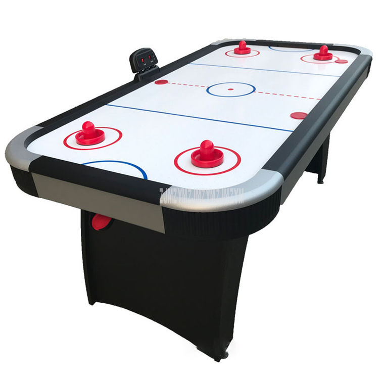 6 Feet Adult/Kids Air Hockey Table Ice Hockey Two Player Game Leisure Hockey Table With Electronic Scoring Scorer Sport (E1384)