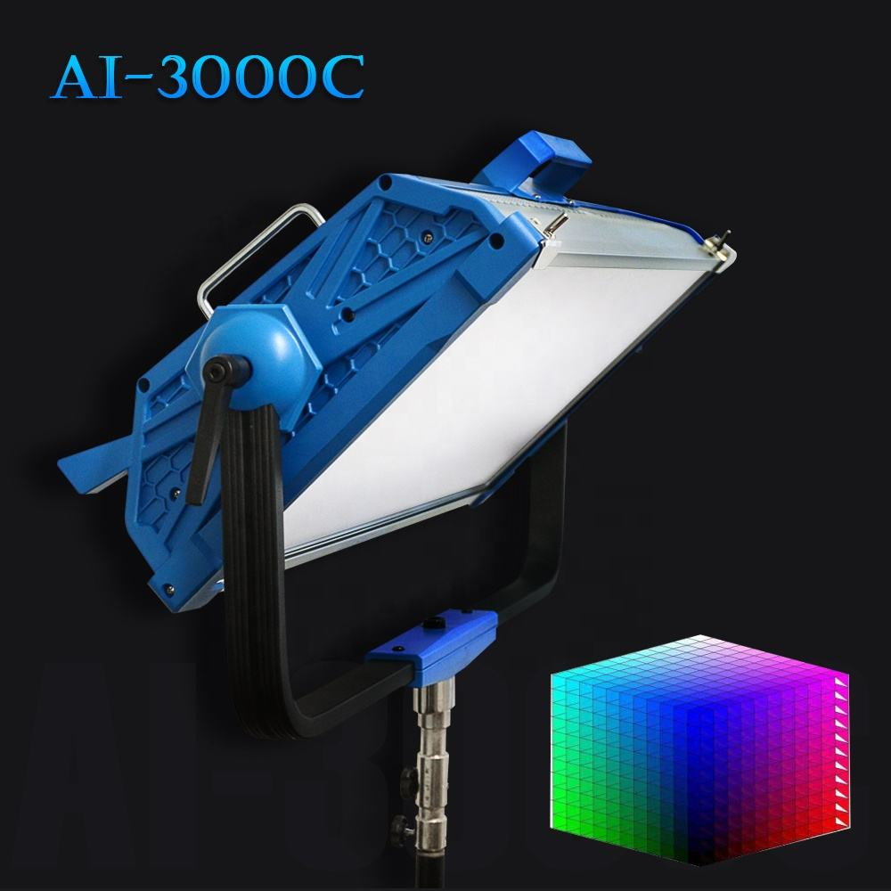 Yidoblo Dimmable Professional Led Panel Photo Studio Video Film Lighting equipment AI-3000C with 12 Lighting effects