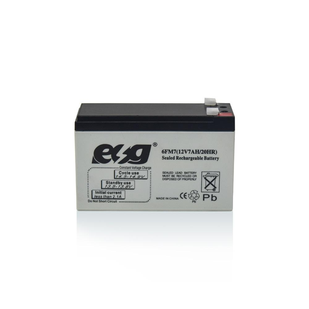 sealed lead acid UPS VRLA 12V 7ah 8ah 20hr AGM storage battery
