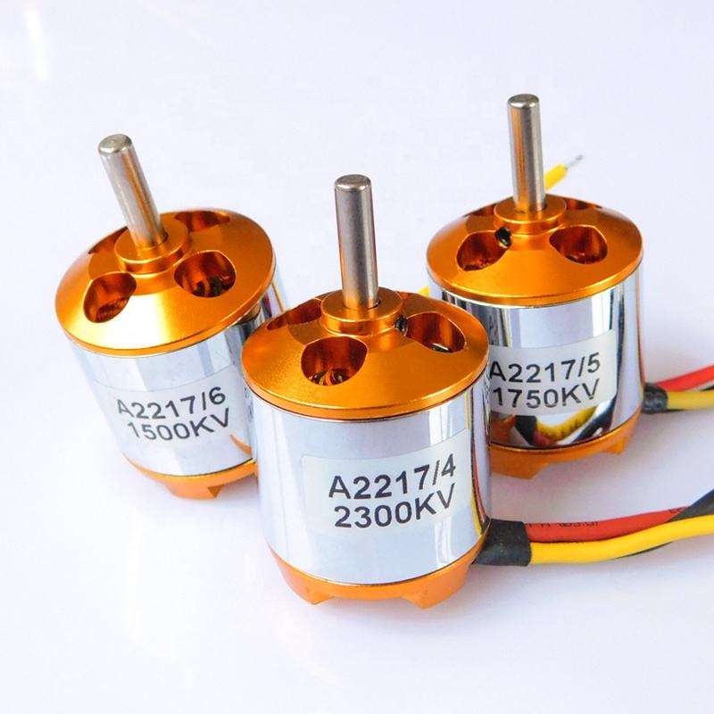 Various Models 12V Dc Rc Brushless Motor Drone With XXD A2217 1100KV 1250KV 1500KV 1750KV 2300KV For RC Drone