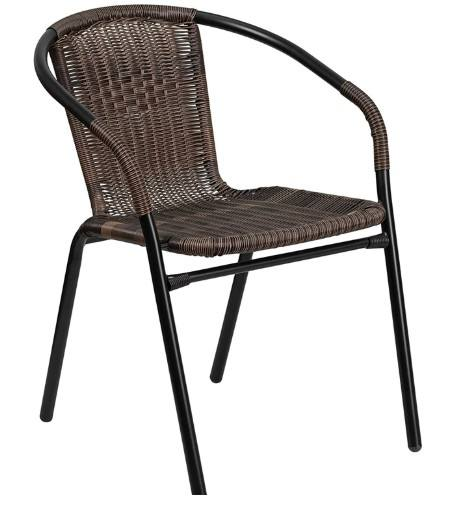 China Factory Rattan Wicker Chairs Stacking Outdoor Chairs