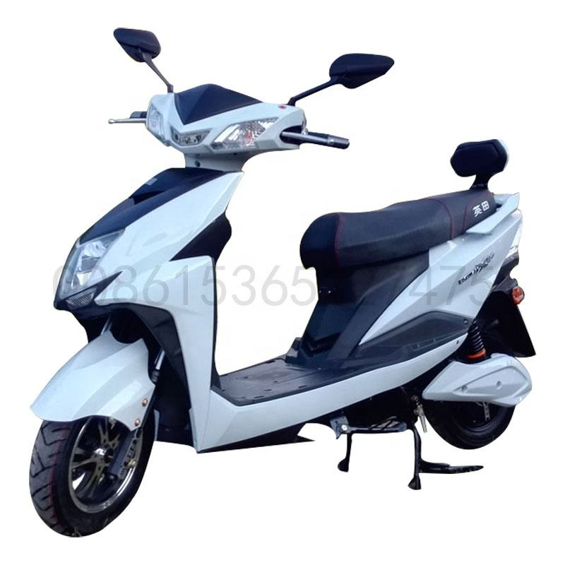 Engtian cheaper High Speed Electric Scooter 60V 20AH 1000w 1500w 2000w CKD Electric Motorcycle With pedals Disc Brake
