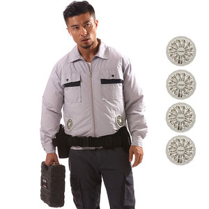 High Temperature Environment Cooling Heatstroke Fan Jacket for Outdoor Work