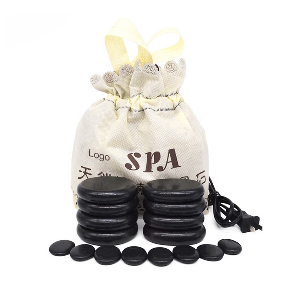 Electric Heating Bag and Hot Stones for Massage Heating Bag Hot Stone Massage Kit