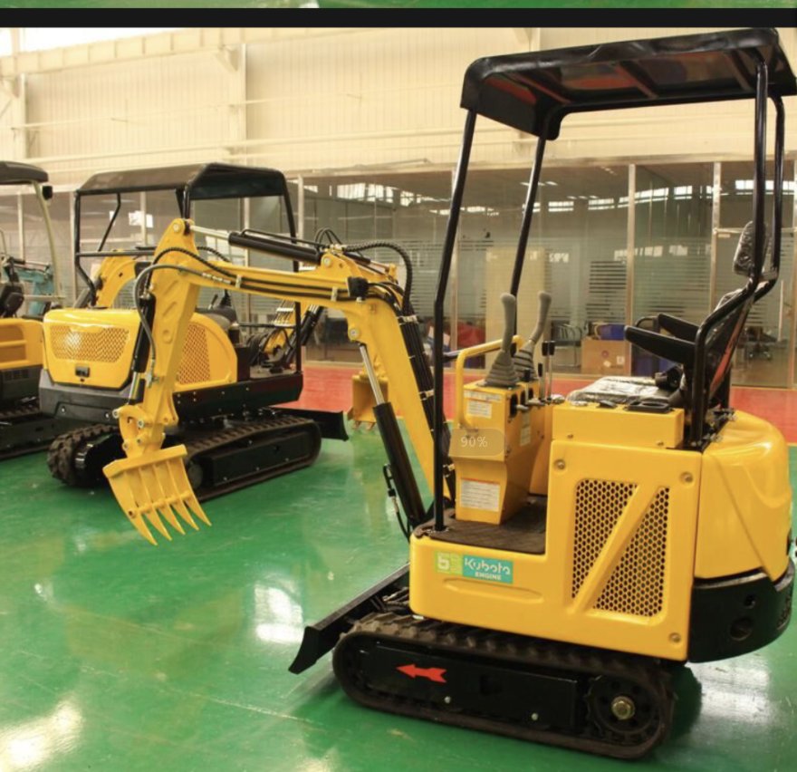 2020 China 18U New mini pelle excavator digger bagger with CE