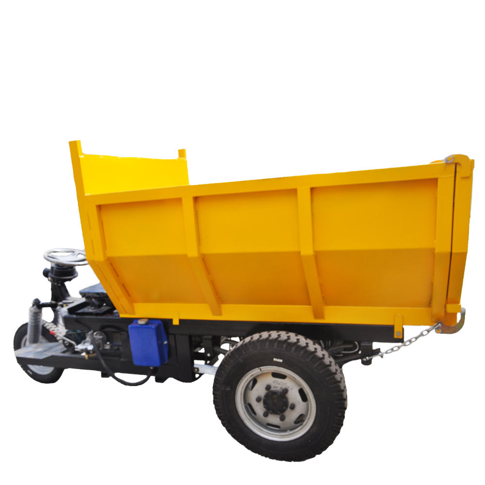 High efficiency manual hydraulic mini dumper with dumper truck parts