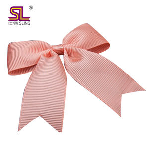 Free samples 20% OFF wholesale China factory pre-tied satin gift decoration wire twist tie ribbon bow for celebration