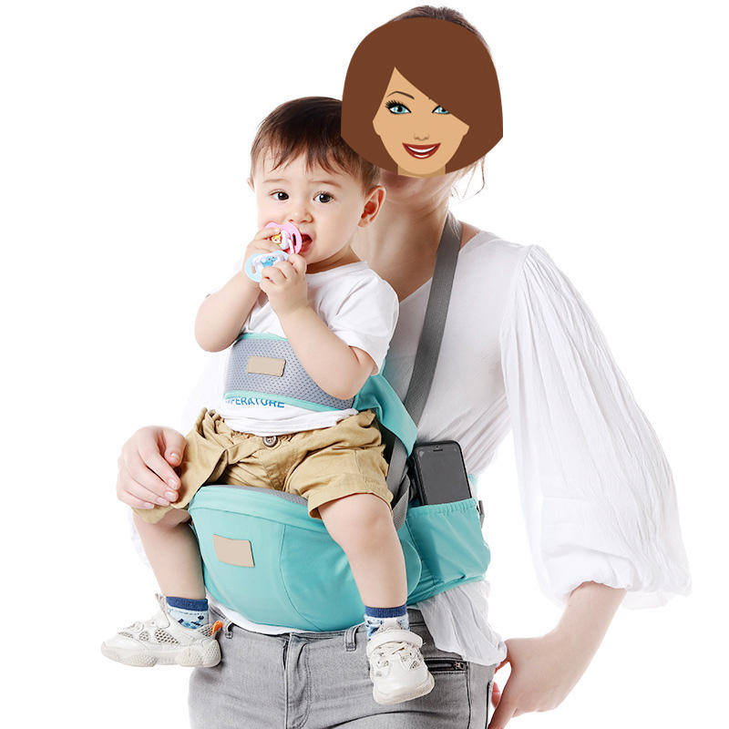 AliGanbaby carrier hip seat baby belt multifunctional breathable child support breathable baby hip seat baby carrier waist stool