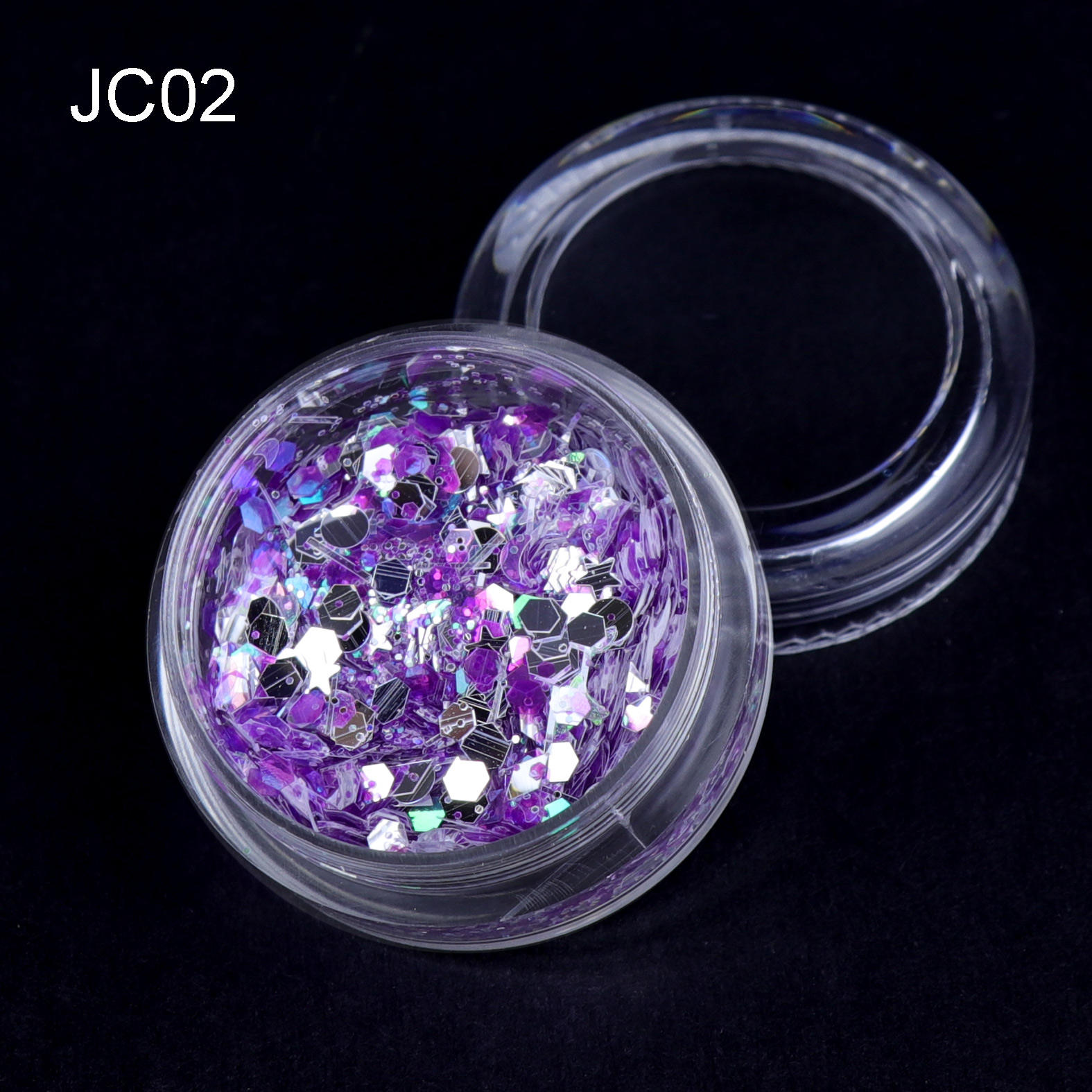 Bulk candy color Cosmetic chunky Glitter Festival Beauty Face Body Glitter for makeup