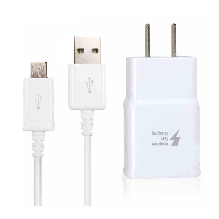 S6 S8 s10 real quick charge fast 충전기 여행 벽 usb charger 어댑터 9 V/1.67A 5 V/ 2A in black/white 대 한 samsung charger