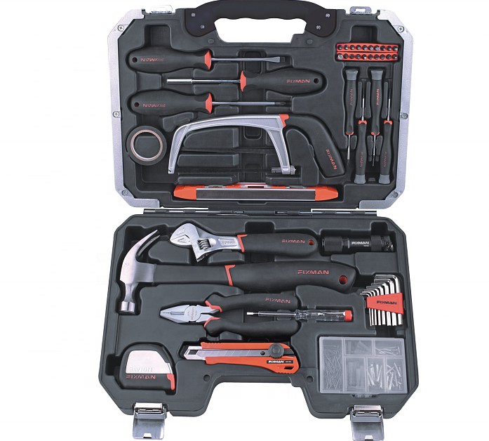 FIXMAN Home Use 142 PCS Household Services Hand Tool Set