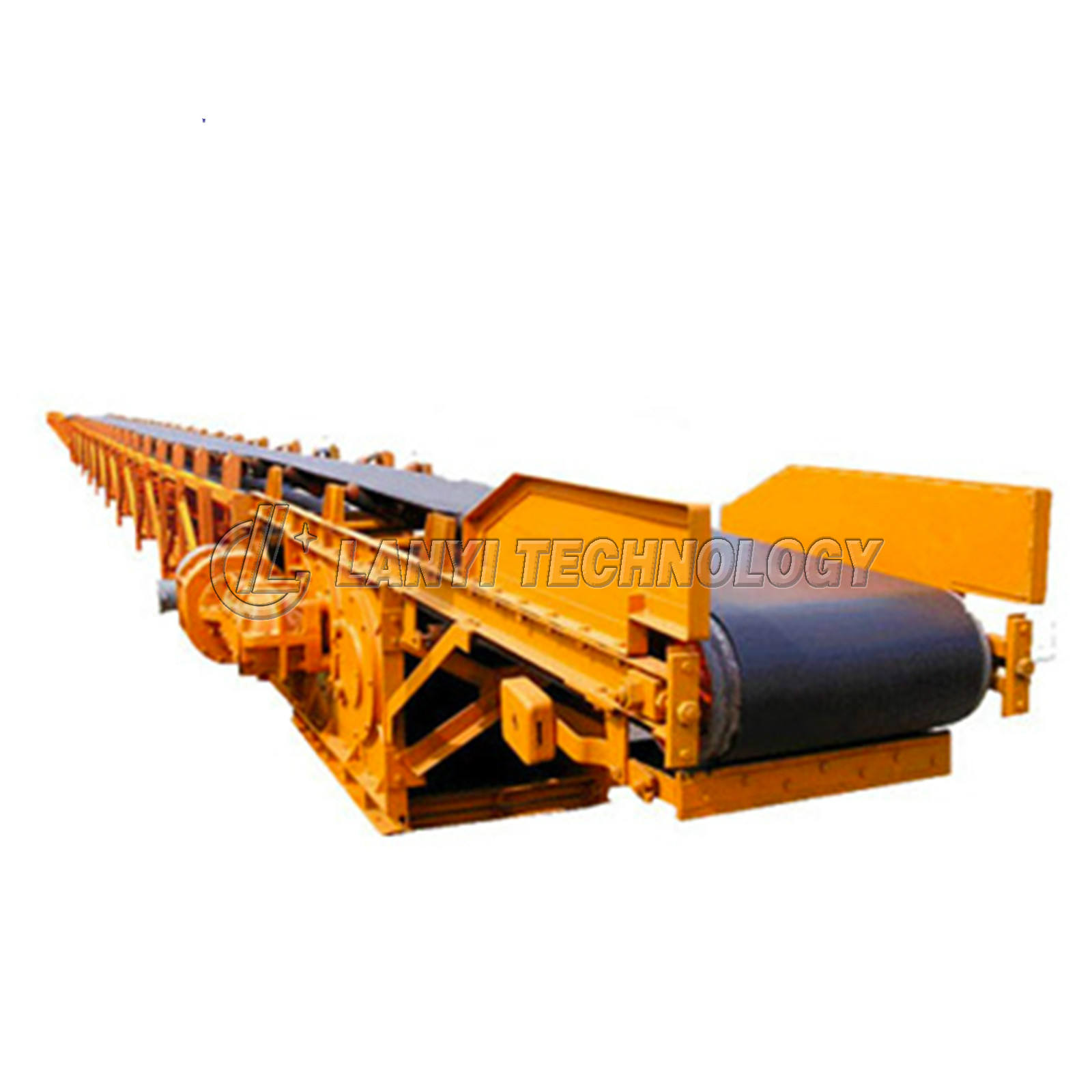 Industry Mining assembly line conveyor belt machine price for coal stone crusher