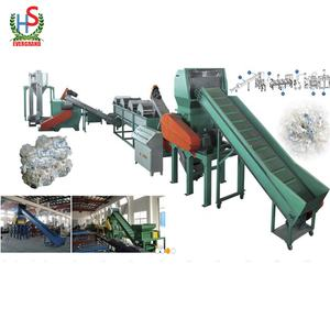 Plastic PP/PE Film Woven Bags Disposal Recycling Crushing And Washing Machine
