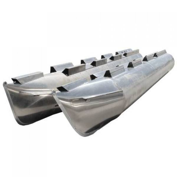 Not Used Aluminum Pontoon Floats Tubes Logs for Sale