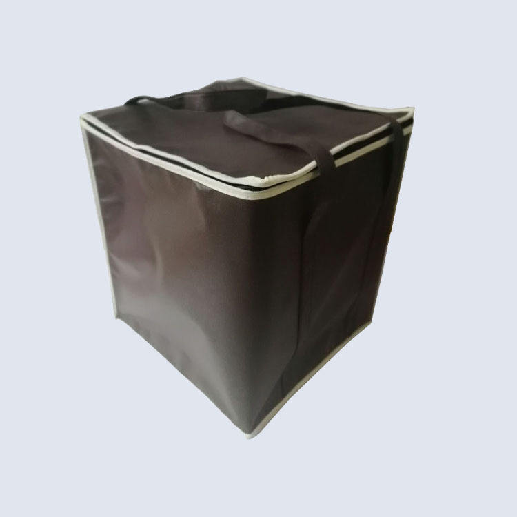 Lunch Bag Wholesale Cheap Price Bulk Picnic Delivery Ice Creem Big Non-woven Dry Keep Cooler Lunch Bag