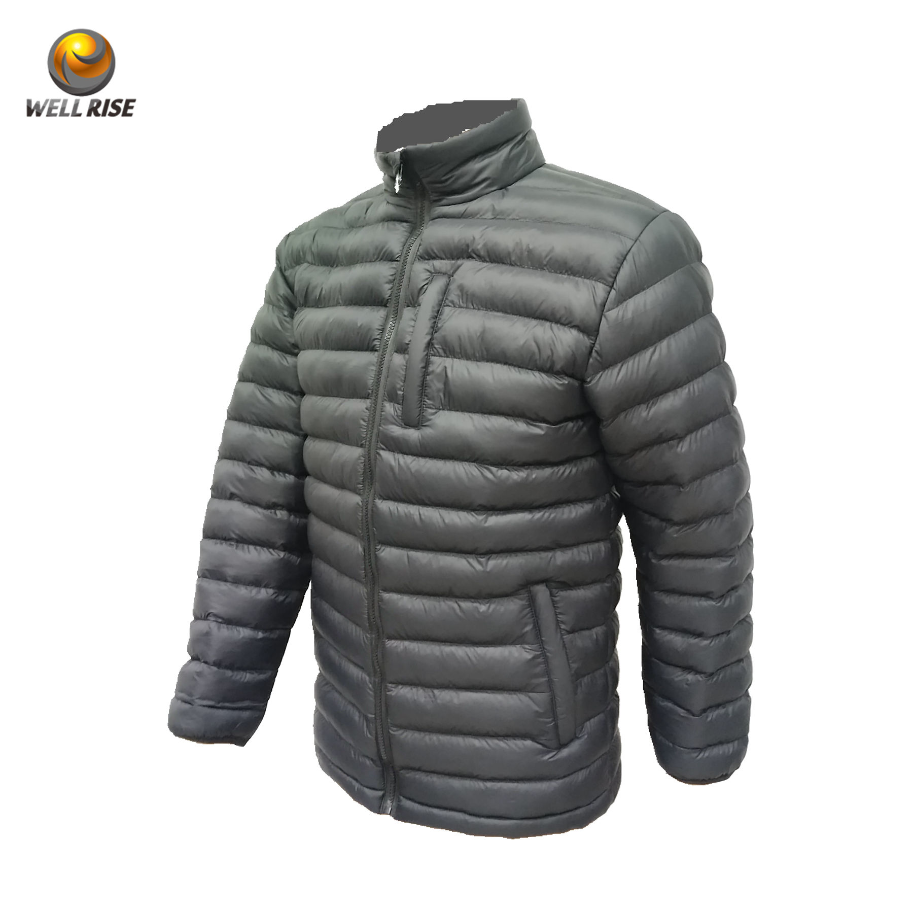 Graphic Customization [ Winter Double Layer Jacket ] Winter Man Cold Quilting Streetwear Cotton Water Resistant Winter Double Layer Warm Sport Heat Padded Jacket