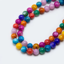 2020 Newest 6mm Multi Color Round Shell Beads for DIY Bracelet