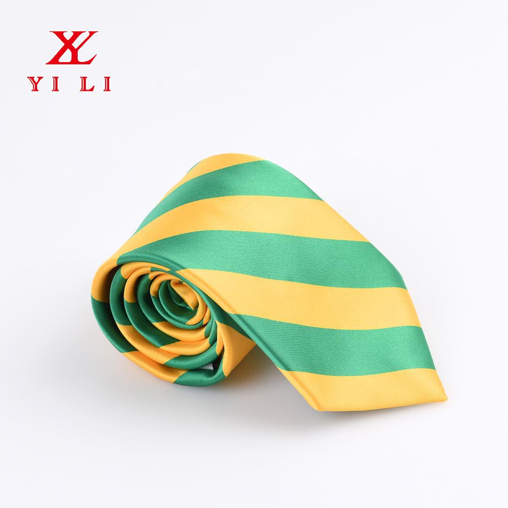 Saint Lucia Flag Weave Classic Men Silk Tie Woven Jacquard Neck Ties