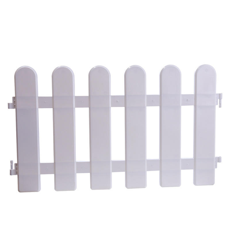 Wholesale Outdoor Removable, White Plastic Garden Fence Christmas Decoration/