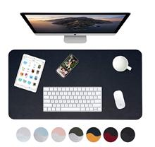 Double side Large Leather Desk Mat Desk Pad Protector Dual Color Leather Desk Pad Office Home In Stock Fast Shipping To USA