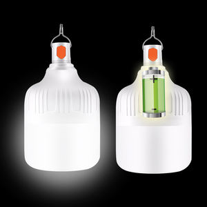 New launch 80w rechargeable outdoor led bulb light lamps with backup battery