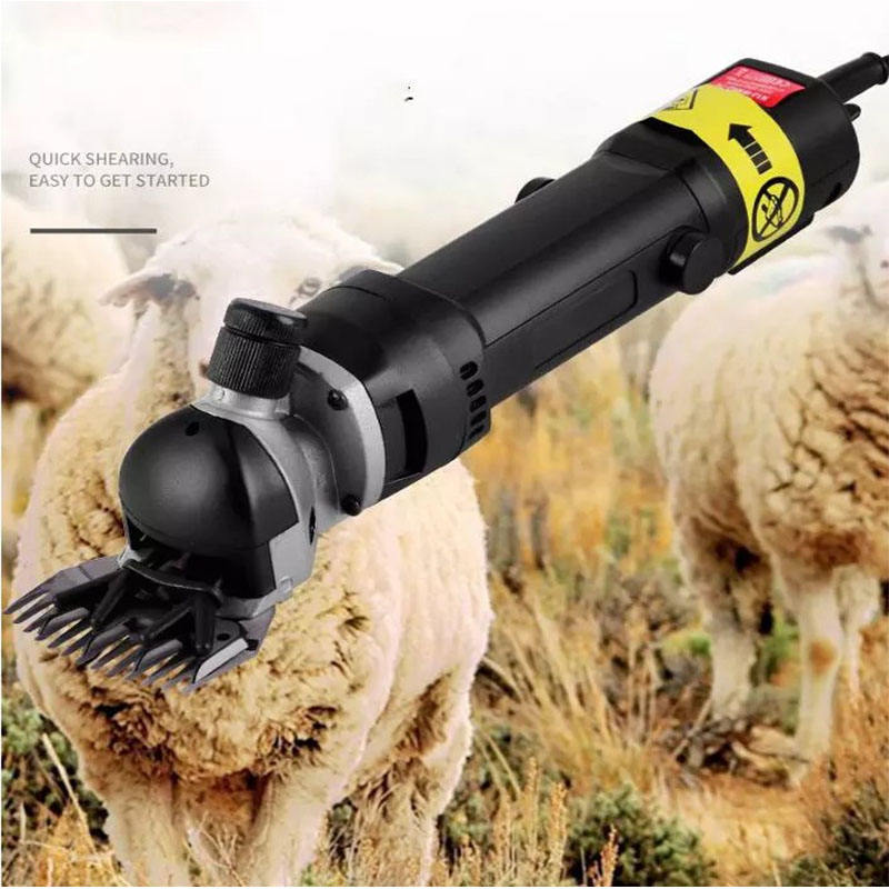 Sheep Cutting Hair Clipper Electric Goat Hand Sheep Wool Shears Machine