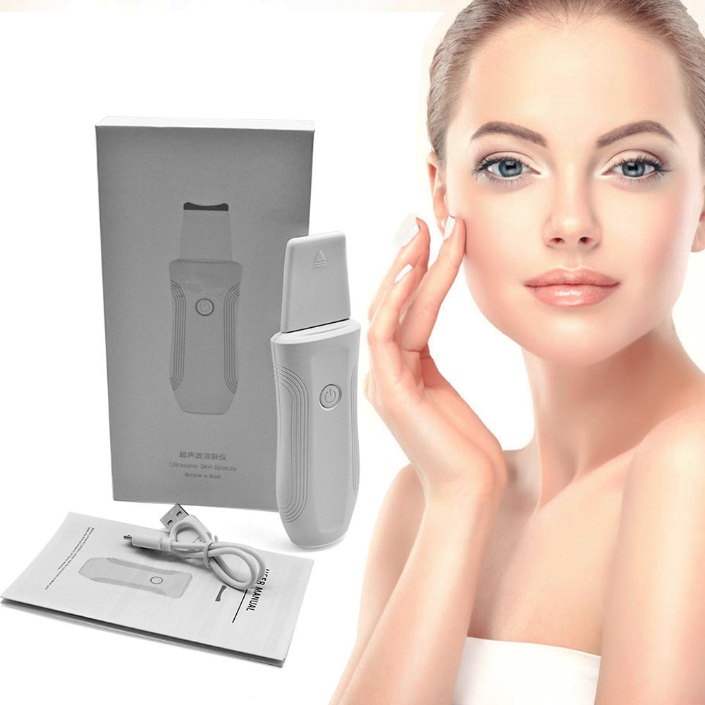 CE,ROHS และ FCC SUPERSONIC ระบบ Ultrasonic Face Scrubber