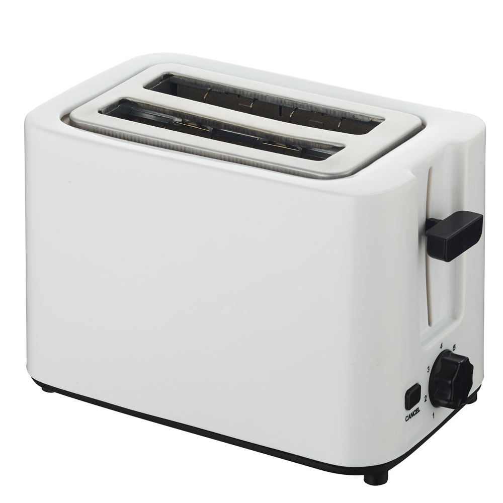 New style 2 slice manual toaster with control cancel button
