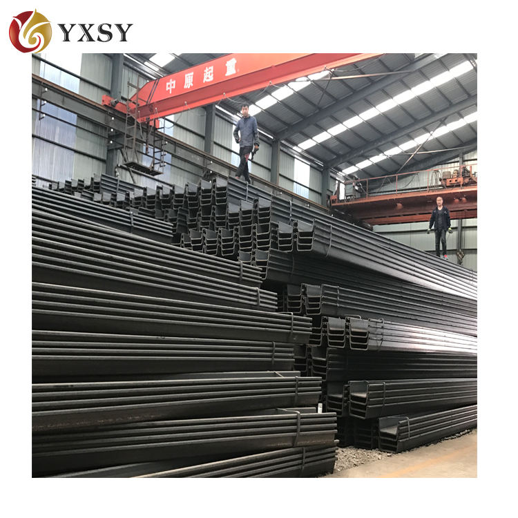 Hot sale Lassen 600mm steel sheet pile