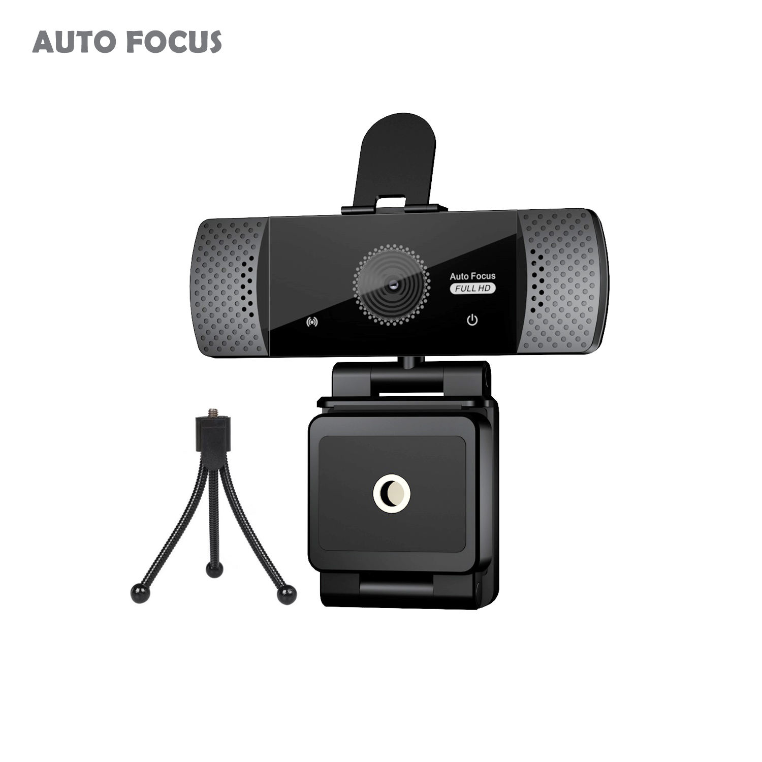 1080 P <span class=keywords><strong>Autofocus</strong></span> WebCam Kamera HD PC USB Streaming Web Cam 2K HD Webcam Dibangun Di Mikrofon untuk PC laptop Desktop