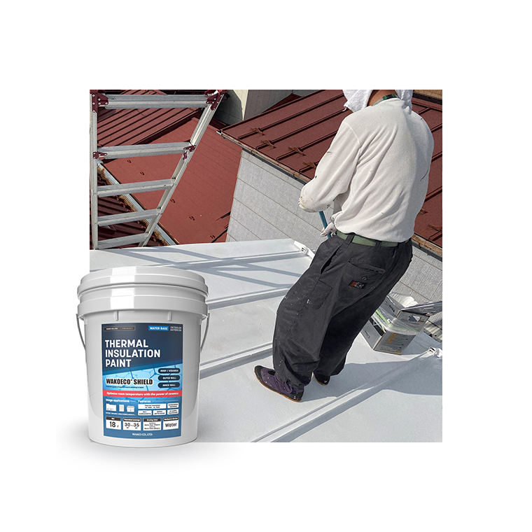 Japanese water-based impact resistance fire protective paint