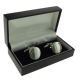 Black Plastic Cufflink Packaging Boxes