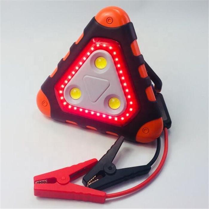 TRILIGHT 7-in-1 Booster Pack Warning Triangle SOS Light lithium ion jump starter and power pack