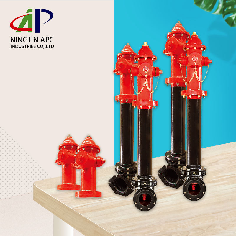 Internationally certified APC products 6inch Dry Barrel outdoor Fire Hydrant