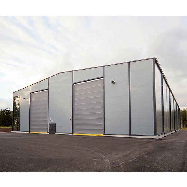 Pre engineered fabricated cheap prefab warehouse building/steel structure warehouse