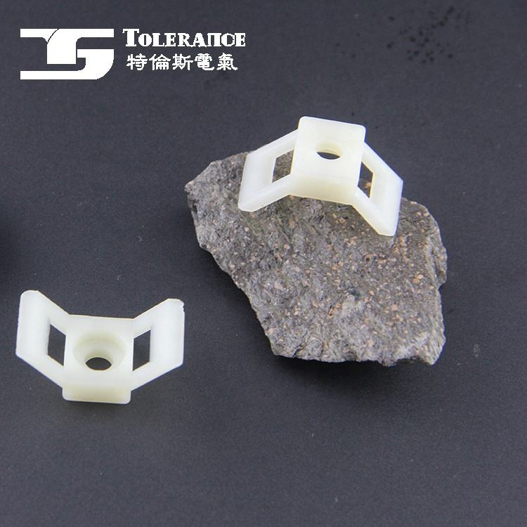 Saddle Type Nylon Cable Tie fiber optic cable tension wedge clamp