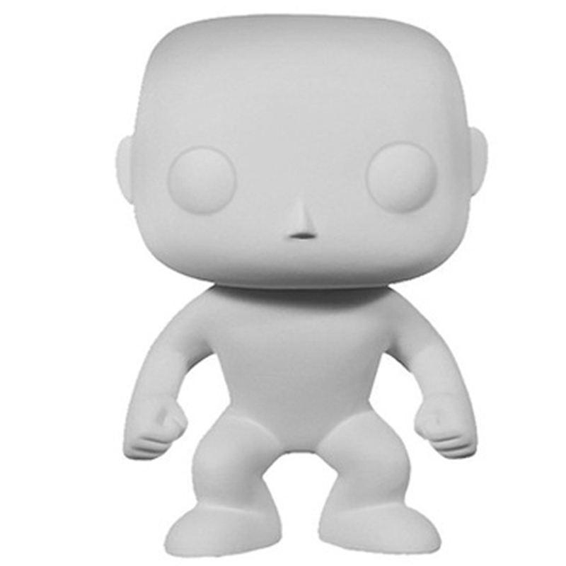 Funko Pop DIY Body Kun Action Figure Male and Female Collectible Toys 10cm