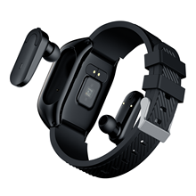 new S300 multifunctional smart watch bluetooth headset 2 in 1 waterproof health temperature heart rate sports smart bracelet