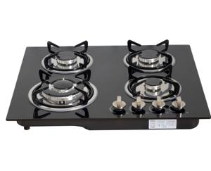 OEM/ODM Factory Suppliers Gas Cookers Built in Gas Cooktop Tempered Glass 4 Burners Kitchen appliance Gas Stove