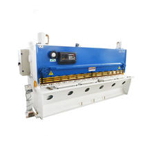 Die-cutting shearing frame guillotine cutting off machine for small metal cutting machinery supplier
