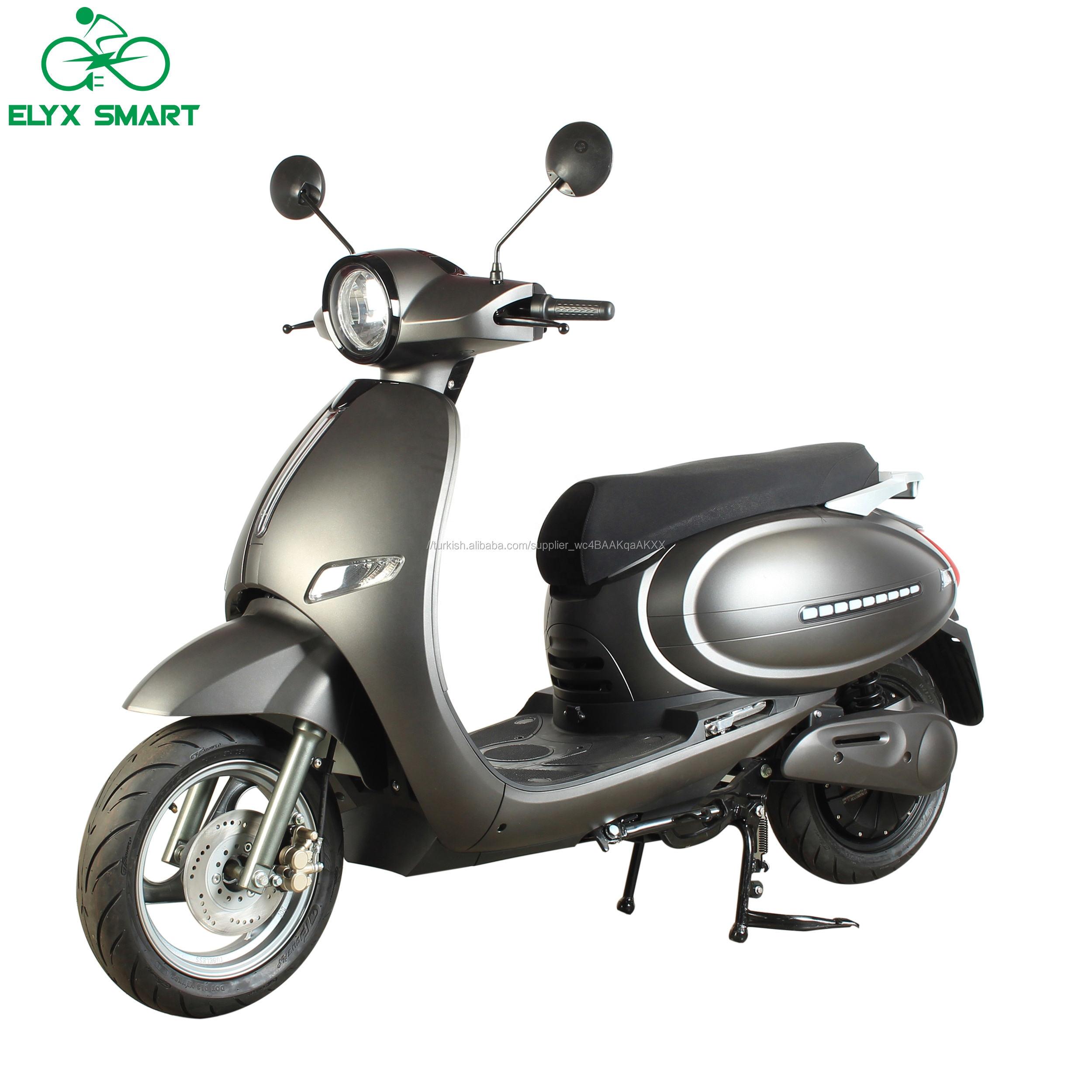 Elyx akıllı destek özel Logo 2020 COC/EEC E <span class=keywords><strong>Scooter</strong></span> alt <span class=keywords><strong>fiyat</strong></span> 2000W elektrikli <span class=keywords><strong>Scooter</strong></span> yetişkin <span class=keywords><strong>Vespa</strong></span> Moped motorlu <span class=keywords><strong>scooter</strong></span>