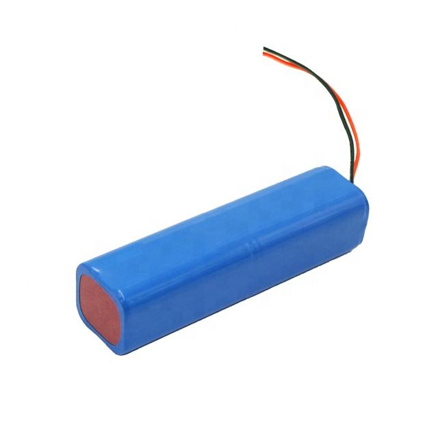 18650 Customized High Discharge Rate Lithium Ion Rechargeable Battery Pack Li-ion 11.1V 6000mAh for Robot
