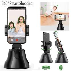 Intelligent pan-tilt head face recognition tracking camera hand-held anti-shake Balance Camera Phone Camera stabilizer