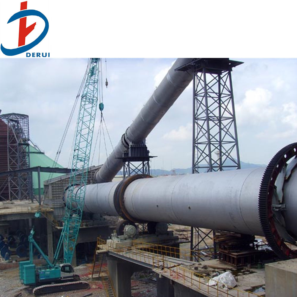 Clinker cement rotary kiln cement production line
