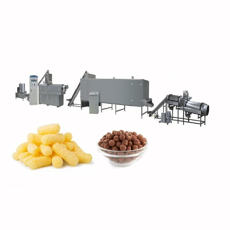 Maïs Snack Pellet Chips Malasia Bulk Snacks Project Machine