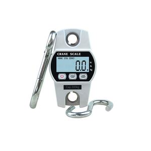 300kg/600lb Portable Mini Industrial Crane Scale Digital LCD Electronic Scales Heavy Duty Hanging Weight Hook Scales