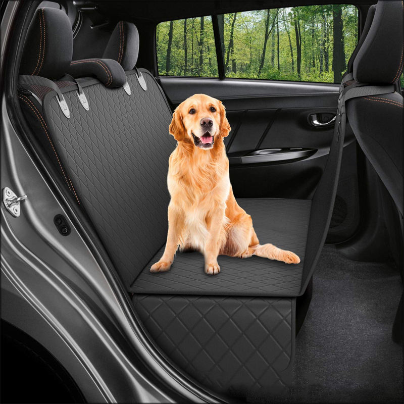 OEM Bench car seat cover protector water proof heavy-duty and nonslip pet car seat cover for dogs with universal fits for cars,