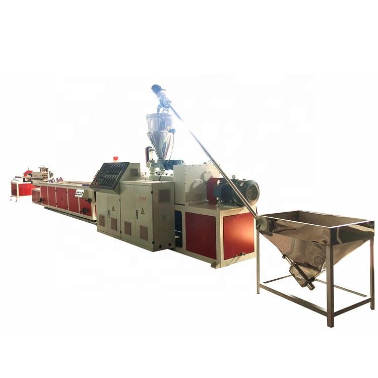 plastic pvc/upvc pp pe frame window profile/ waterstop/welding rod extrusion machine