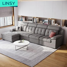 Reconfigurable Deep Seating Couch Sectional Living Room Combination Sofa Set 7 Seater Corner sofa