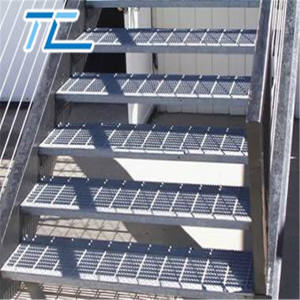 30x3 galvanized steel grating factory building metal materials anti slip steel grating